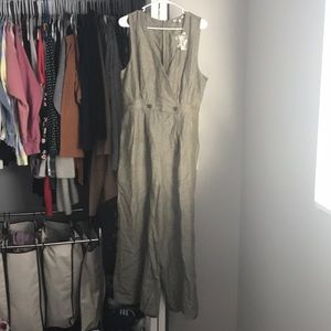 Madewell Green Jumpsuit, NWT